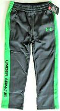 Under Armour Boys AllSeasonGear® Fleece-Lined Stealth Gray Sweat Pants 6,7 Nwt