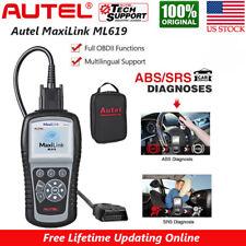 Autel OBD2 Scanner Automotive Diagnostic Tool OBD Code Reader Car ABS SRS Airbag