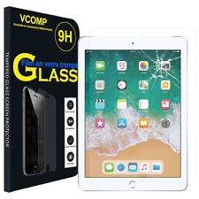 Lot/ Pack Film Verre Trempe Protecteur Protection pour Apple iPad 9.7 (2018)