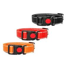 Dog Collar Reflective Nylon Collar Dog Collar Stemming Reflector