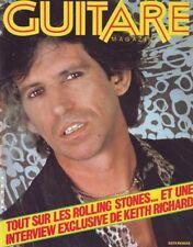 Guitare Magazine #20 -Keith RICHARDS / ROLLING STONES-