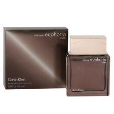 EUPHORIA INTENSE FOR MEN BY CALVIN KLEIN Cologne 1.7 oz & 3.4 oz EDT NEW IN BOX