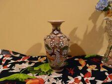 Nice Satsuma Vase Immortals and Elephant Handles