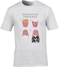 Buckethead Inspiré T-shirt homme seau tête drôle Guitare Dieu Praxis Guns Roses