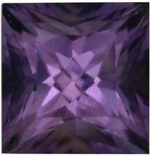 Natural Fine Vivid Purple Amethyst - Square Princess - Bolivia - Top Grade