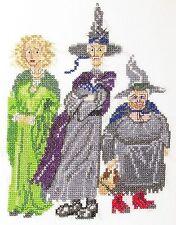 Le Disque-Monde Les sorcières Compté Cross Stitch Kit / chart (aida weatherwax