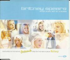 BRITNEY SPEARS I'm not Girl 6trx w/ MIX & VIDEO & BONUS BOOKLET CD Single SEALED