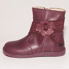 Primigi Girls 80881 Burgundy Leather Zip Boots