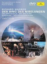 Richard Wagner Der Ring Des Nibelungen (Metropolitan Orchestra) 7 DVD Set NIB