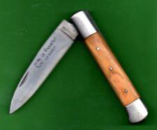 gravé Prénom  en 'OLIVIER-Couteau ROQUEFORT  élégant robuste d'Artisan
