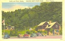 Hawk's Nest State Park,WV.  Grill & Picnic Shelter