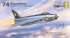 AV600 74b 74 Squadron EE/ BAC Lightning RAF cover signed CALDWELL