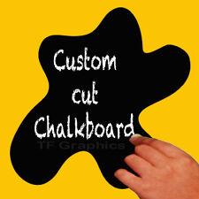Self Adhesive Chalkboard Vinyl Wall Decal - Kitchen Bedroom Chalk Wall Display