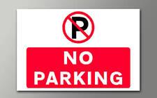 1 no hay aparcamiento 3mm Rígido Signo