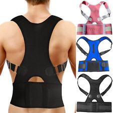 Adjustable Back Support Bad Posture Corrector Shoulder Belt Neoprene Magnetic
