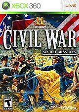 Xbox 360 : History Channel Civil War: Secret Missions VideoGames