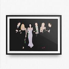 Gli amici ispirato Wall Art Print/Poster A4 A3 AMICI TV Joey Ross Chandler