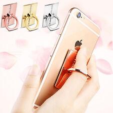 Universal Mobile Diamond Holder Finger Grip Phone Stand Car Mount Cradle Hook