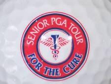 (1) SENIOR PGA TOUR FOR THE CURE LOGO GOLF BALL BALLS