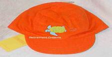GYMBOREE Hat NEW Orange AT THE BEACH Layette Turtle