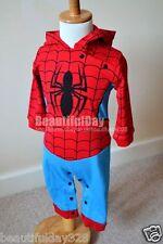 Bebé Niño Spiderman Hero Fancy Dress Costume Disfraz Fiesta Cumpleaños Escuela Play