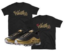 "Nike Air Max 97 95 Metallic Gold Bullet ""Hustle"" SHIRTS"