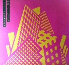 MAXI LP * HOLLY JOHNSON-Atomic City * puliti-cleaned
