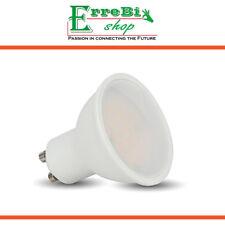 FARETTO LAMPADINA LED GU10 SMD 6W 3000K LAMPADA SPOTLIGHT PAR16 V-TAC VT-2096