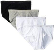 Calvin Klein Men's 4-Pack Cotton Classic Basic Brief - U4000