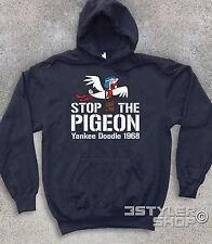 FELPA unisex Yankee Doodle Stop the pigeon Dastardly Muttley macchine volanti