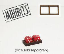 Wargames Hit Marker MDF Dice Frames - Double Frames - Various Sizes