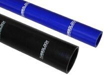 Silikonschlauch Verbinder gerade - Ø 13 - 80 mm - L: 100 - 1000mm schwarz / blau