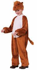 Cute Soft Camel Child Costume Jumpsuit Nativity Desert Animal Boys Girls Brown