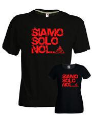 T-shirt Vasco Siamo solo noi vasco rossi blasco ottimo cotone nera uomo donna