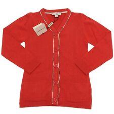 6808F cardigan BURBERRY COTONE CHECK COTONE CACHEMIRE maglia maglione bimba