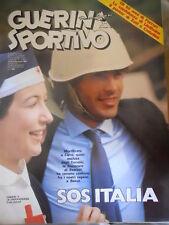 Guerin Sportivo 7 1983 poster di Zoff e Castellini