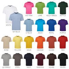 Plain Blank Tee 100% Cotton T-SHIRT 1HT | Mens | Sizes S - 6/7XL