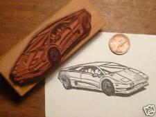 1994 Lamborghini Diablo Super Car Rubber Stamp - Countach, Lamborgini