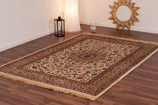 Kashmir Silk like Soft Cream Gold Traditional Persian Des. 120x170cm Rug -50%OFF