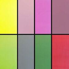 Tinted Translucent Cellophane 80cm x 100m Choose Colours