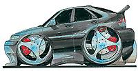 Saab 9-3 Black Cartoon car t-shirt -sizes S-3XL viggen turbo diesel sport