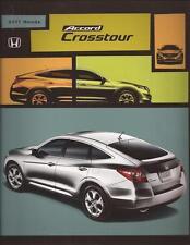 2011 11 Honda Accord  Crosstour Original Sales Brochure MINT