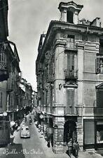 """"""" BIELLA (Vercelli) : Via Italia """"- Viaggiata Anno 1955"""