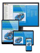 VW Polo Hatchback Gasolina (2000-Jan 2002) V a 51 Haynes manual en línea