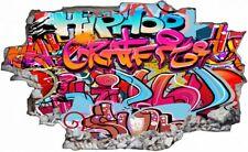 Graffiti Kunst Sprayer Wandtattoo Wandsticker Wandaufkleber C1382