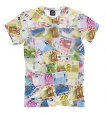 Евро Hipster - NEW t-shirt  money bill Euro cool designe HQ print