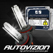 AUTOVIZION AC 55w HID Kit H4 H7 H11 H13 9003 9005 9006 9007 6000K Hi-Lo Bi-Xenon