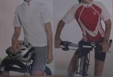 Fahrradshirt Gr 116 128 140 152 Kurzarmshirt Bikershirt für Mädchen rot o weiß