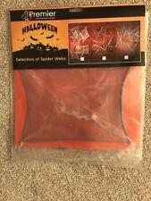Halloween Sélection de Effrayant Araignée Toiles 3 Différents Modèles & Couleurs