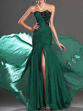 Abito lungo da donna damigella vestito cerimonia party festa ballo sposa o stola